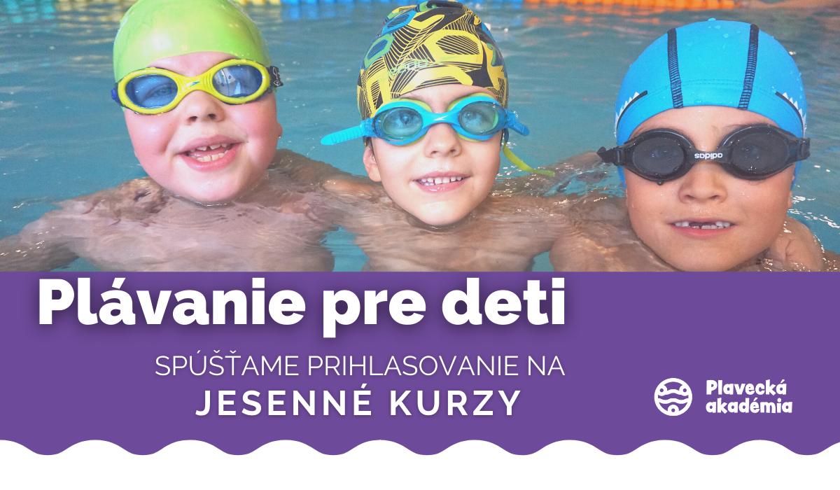 Plávanie pre deti JESEN 2021