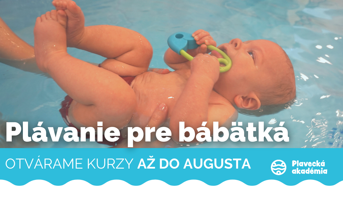 Plávanie pre BÁBÄTKÁ až do AUGUSTA